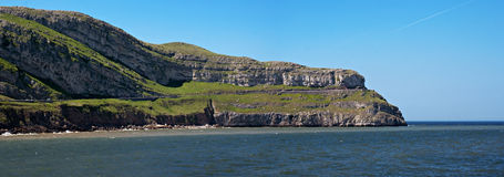 Panoramic view of Great Orme Stock Images