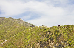 Panoramic view of the Great Wall Stock Photos
