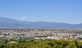 Panoramic view of Guadix Royalty Free Stock Photos