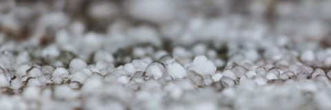 Panoramic view of hail Stock Image
