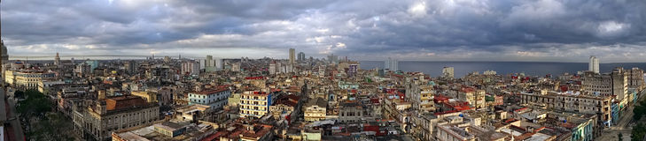 Panoramic View Havana Royalty Free Stock Photo