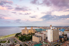 Panoramic view of Havana Royalty Free Stock Photo