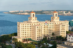 Panoramic view of Havana with a view of the Vedado neighborhood Royalty Free Stock Photo