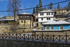 Panoramic View of historical town of Koprivshtitsa, Sofia Region Royalty Free Stock Photo