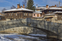 Panoramic View of historical town of Koprivshtitsa, Sofia Region Stock Photography