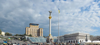 Panoramic view of the Independence Square Royalty Free Stock Images