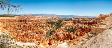 Panoramic view from Inspiration point - Bryce Canyon Royalty Free Stock Photography