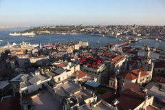 Panoramic view of Istanbul Stock Images