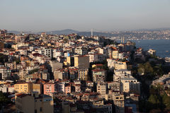 Panoramic view of Istanbul Royalty Free Stock Images