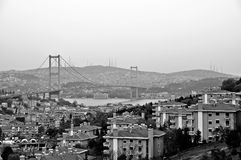 Panoramic view of Istanbul Royalty Free Stock Image