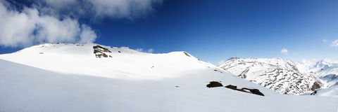 Panoramic view of Italian Alps Royalty Free Stock Images