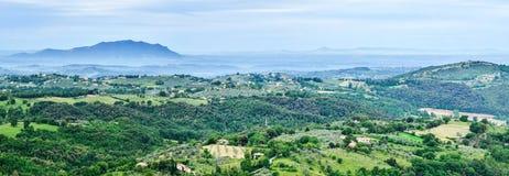 Panoramic view. Italy Stock Photos