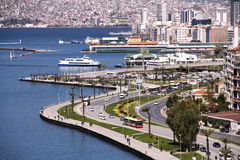 Panoramic View From Izmir Stock Image