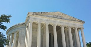 Panoramic View of Jefferson Memorial in Morning  –  Washington, D.C. Stock Photos