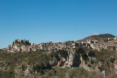Panoramic view of Jenne old village Royalty Free Stock Images