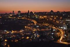 Panoramic view of Jerusalem. Israel Stock Photo