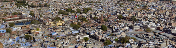Panoramic view of Jodhpur city Royalty Free Stock Photography