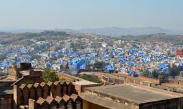 A Panoramic view of Jodhpur city situated in the state of Rajasthan, India