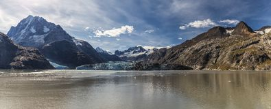 Johns Hopkins Glacier in Alaska, USA stock image