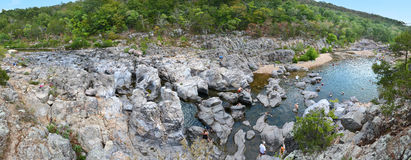 Panoramic View of Johnson Shut Ins In Missouri Stock Photo