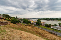 Panoramic view from Kalemegdan park Royalty Free Stock Images