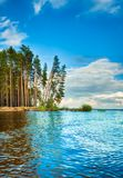 Kama river side. Royalty Free Stock Photography