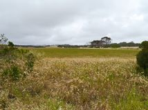 A panoramic view of Kangaroo island Stock Photo
