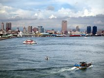 Panoramic View of Kaohsiung City Royalty Free Stock Photography