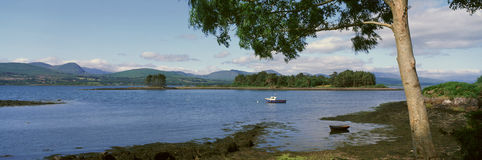 Panoramic view of the Kenmare River, Cork, Ireland Stock Photo