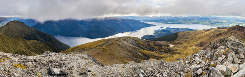 Panoramic view of Kepler Track Royalty Free Stock Image