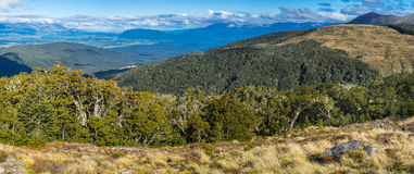 Panoramic view of Kepler Track Stock Image