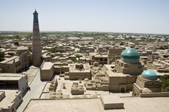 Panoramic view of Khiva Royalty Free Stock Photography