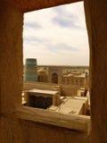 Panoramic view of Khiva Stock Photos