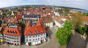 Panoramic view of Konstanz city, Germany Stock Image