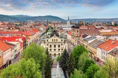 Panoramic view of Kosice, Slovakia Royalty Free Stock Photo