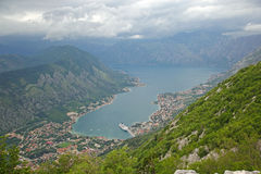 Panoramic view of Kotor, Montenegro Stock Photos