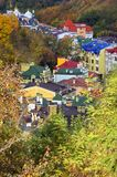 Panoramic view of Kyiv city Stock Images