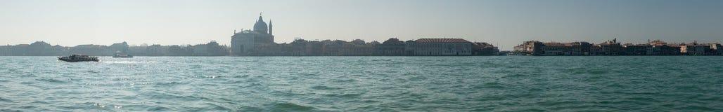 Panoramic view La Giudecca island in Venice Royalty Free Stock Photos
