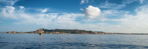 Panoramic view of LA Maddalena Archipelago in Sardinia Stock Images