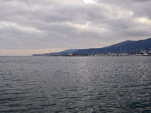 panoramic view of la spezia gulf Royalty Free Stock Photography
