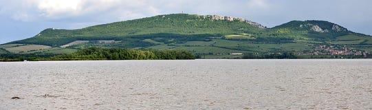 Panoramic view, landscape Palava, Czech Republic, Europe Stock Images