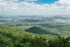 Panoramic view of las terrazas, pinar del rio, Cuba Royalty Free Stock Photography