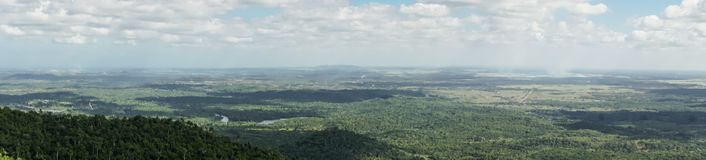Panoramic view of las terrazas, pinar del rio Stock Photography