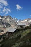 Panoramic view from Lauteraar hut Royalty Free Stock Image