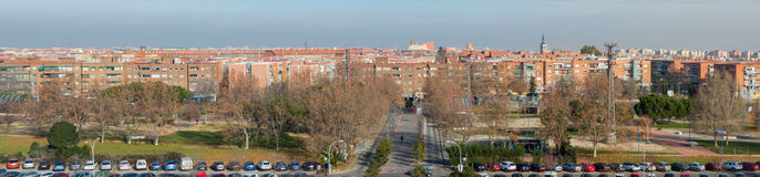 Panoramic view of Leganes Stock Photography