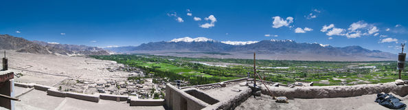 Panoramic view of Leh Royalty Free Stock Images
