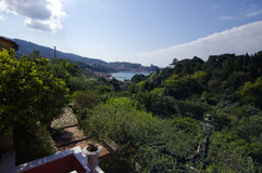 Panoramic view of Lerici, Italy Stock Photo