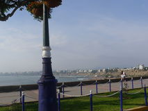 Panoramic view of the Lima bay Royalty Free Stock Images
