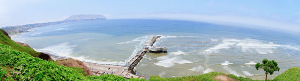 Panoramic view of Lima, Peru Royalty Free Stock Photos