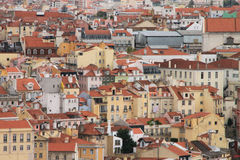 Panoramic view of Lisbon Stock Photography